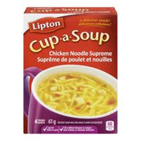 Lipton® Cup-a-Soup Chicken Noodle Supreme Instant Soup Mix 4 Packs-61g