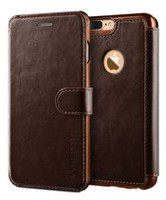 Vrs Design Layered Dandy Case for iPhone 7 Plus Coffee Brown