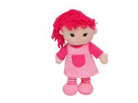 "12"" Rag Doll (Purple)"