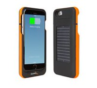 EnerPlex Surfr Orange Solar Charging Case for iPhone 6/6S