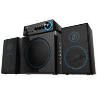 Arion Legacy Deep Sonar 300 2.1 Channel Computer Gaming Speaker System (ARDS300-BK) Black -English