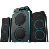 Arion Legacy Deep Sonar 550 2.1 Channel Computer Speaker System (ARDS550-BK) Black - English
