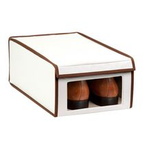 Honey-Can-Do Medium Canvas Window Shoe Box
