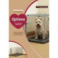 Rosewood Pet Wire Dog Kennel L