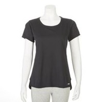 T-shirt performance Athletic Works pour femmes Noir XS