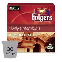 Folgers Capsules de café K-Cup Colombien suprême 30 Capsules