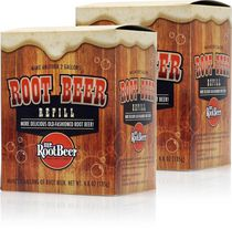 Mr. Beer Mr. Root Beer Home Brewing Root Beer Refill Kit  2 Pack