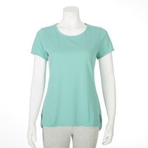 T-shirt performance Athletic Works pour femmes Teal L/G