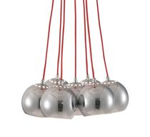 Kalise Ceiling Lamp -Red