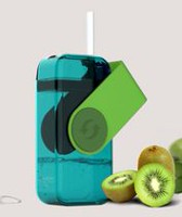 Asobu  Resuable Juice Drink Box for Kids Green