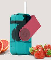 Asobu  Resuable Juice Drink Box for Kids Red
