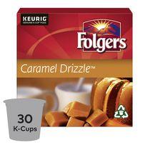 Folgers Capsules de café K-Cup Coulis de caramel 30 Capsules