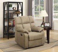 Lifestyle Solutions Tremont Solid Wood Frame Recliner