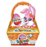 Ferrero Kinder Surprise Easter Milk Chocolate Basket