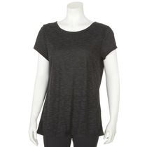 Athletic Works Women's Yoga Tee Gray L/G
