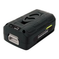 Snow Joe Batterie au lithium-ion 40 V 5,0 Ah PRO EcoSharpMD iON + Sun Joe