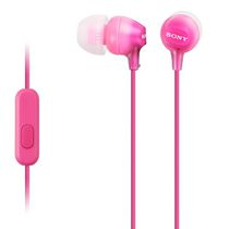 Sony Fashion Color EX Earbud Headphones with Microphone Pink