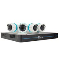 EZVIZ 8 Channel 2TB DVR with 4 1080P Bullet Cameras