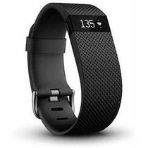 Fitbit Charge HR Wireless Activity Tracker Black Small