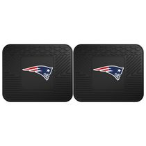 FanMats NFL New England Patriots Utility Mat - Set of 2