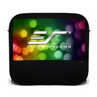 Elite Screens Pop-up Cinema Series 84-inch Portable Spring Indoor Outdoor Camping Projector Screen