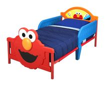 Sesame Street 3D Toddler Bed- Elmo