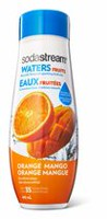 SodaStream Waters Orange Mango Flavour Sparkling Drink Mix