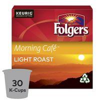 Folgers Capsules de café K-Cup café du matin 30 Capsules