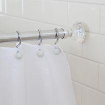Kingston Brass CC3150 Vintage Rectangular Shower Curtain Rod Matte Black