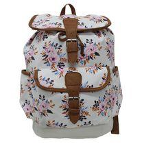 Floral Messenger Backpack
