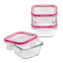 Snapware 3Pk Square  Glass Food Storage Value Pack