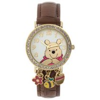 Winnie the Pooh Adult Watch with Charms