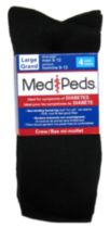 Medipeds Mens Diabetic Crew Sock