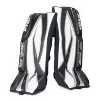 Jambières de gardien de but PTG+ de Road Warrior de 28 po (71,12 cm) pour hockey de ruelle