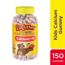 L'il Critters™ Calcium Gummy Bears with Vitamin Supplement