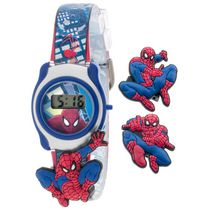 Boy's Spiderman LCD watch