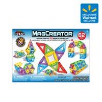 Cra-Z-Art MagCreator Magnetic Construction Building Set 62 Pieces