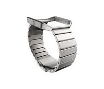 Fitbit Blaze Classic Accessory Metal Band, Silver