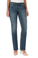 Signature by Levi Strauss & Co. Women's Straight Jeans 18 S