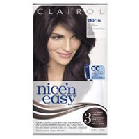 Coloration maison Clairol Nice'n Easy, 1 trousse Mohogany Black