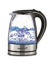 Brentwood 1.7L Cordless Glass Electric Kettle