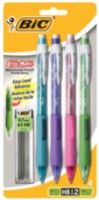 BIC Clicmatic Fashion Mechanical Pencil 4pk