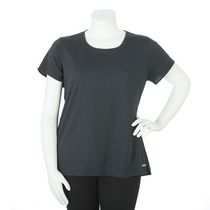 Athletic Works Plus Size Women's Athletic Top Black 2X
