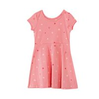 Robe patineuse George pour filles en jersey Corail P