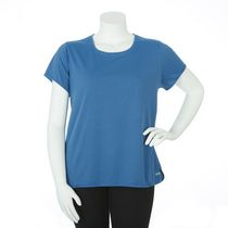 Athletic Works Plus Size Women's Athletic Top Blue 2X