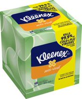 Kleenex® Anti-Viral* Tissues, Upright, 68 Sheets