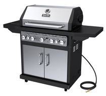 Dyna-Glo DGA550SSN-D 5-Burner Stainless Steel Natural Gas Grill