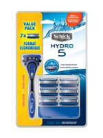 Schick Hydro 5 Men's Hydrating Gel Reservoir Razor Value Pack