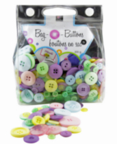 Bag O' Buttons - Pastels