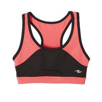 Athletic Works Girls' Performance Bra Black L/G